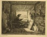 The Artist in His Studio/The Artist on the Boat, from Voyage en Bateau